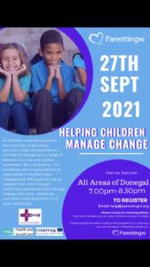 Helping Children Manage Change 1